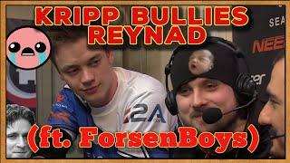 Hearthstone: Kripp bullies Reynad (ft. Forsen - Trying not to laugh)