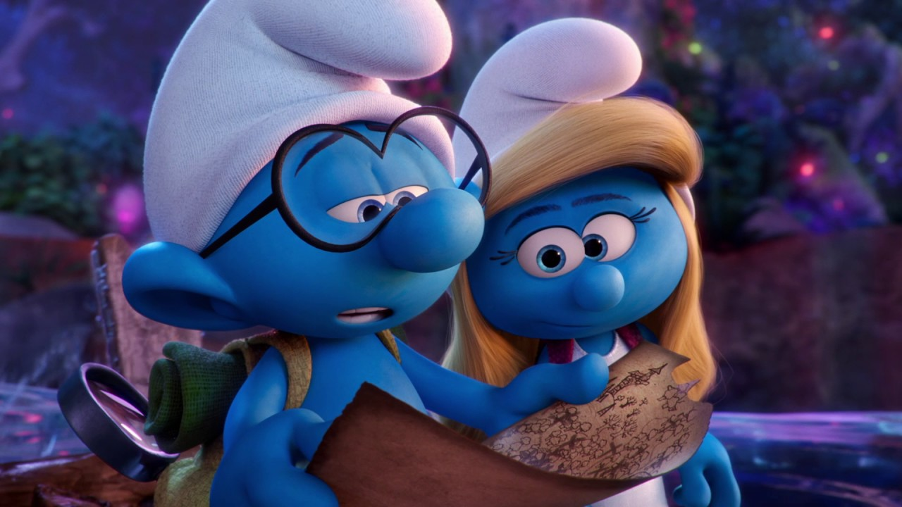 Hello clumsy smurfs the lost village now in cinemas youtube - Hefty smurf the lost village ...