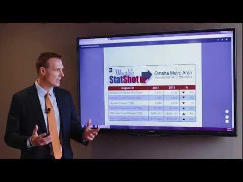 Real Estate Market Statistics   Omaha   August 2017