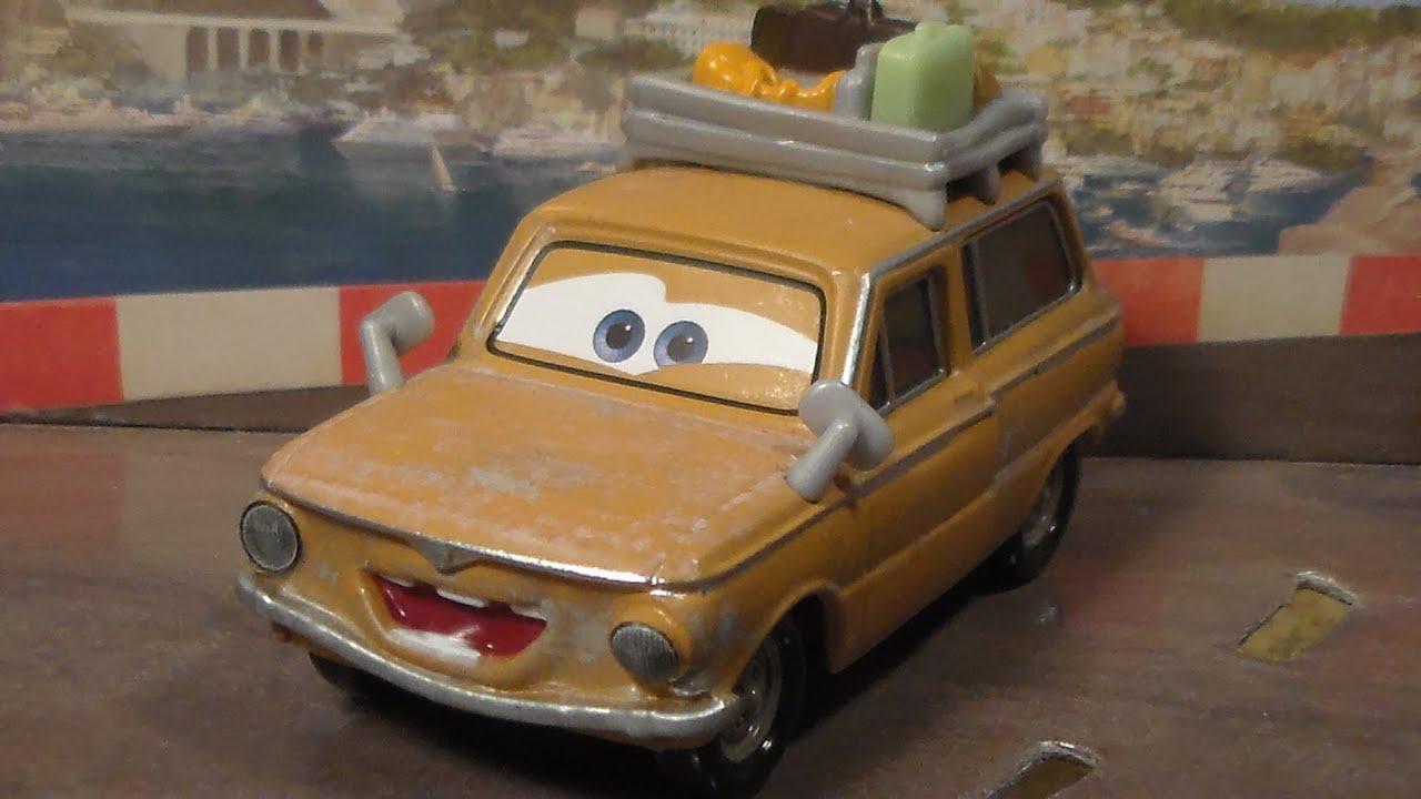 Lubewig new 2014 disney pixar cars 2 paris tour series for Salon pixar paris