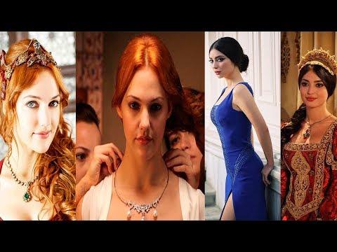 las mujeres mas lindas de el sultan suleiman