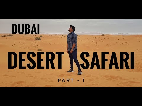 4×4 Dubai Desert Safari | Quad biking | Belly dance | BBQ dinner | Part 1