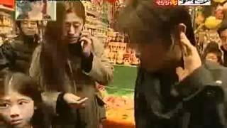 劉謙魔術瘋日本_三色包-穿鐵捲門
