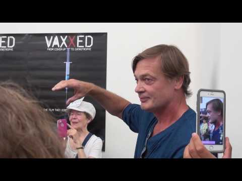 VAXXED Dr Andrew Wakefield at Conspiracy Culture
