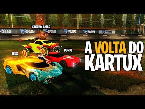 FINALMENTE A VOLTA DO KARTUX!!! - Rocket League