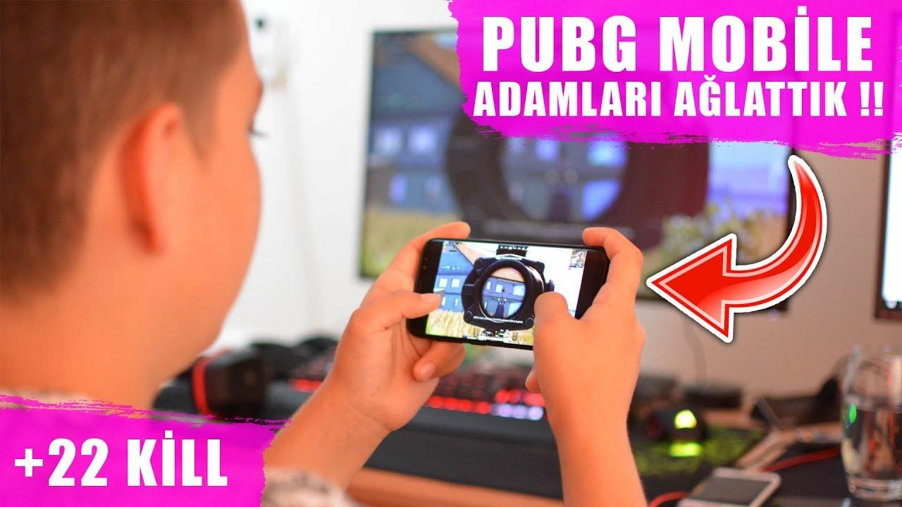 PUBG Mobile PC DEN OYNAMA !! ADAMLARI AĞLATTIK ?