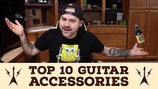 Top 10 Guitar Accessories