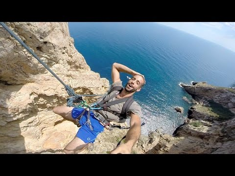 GoPro: Highline Rope Swing