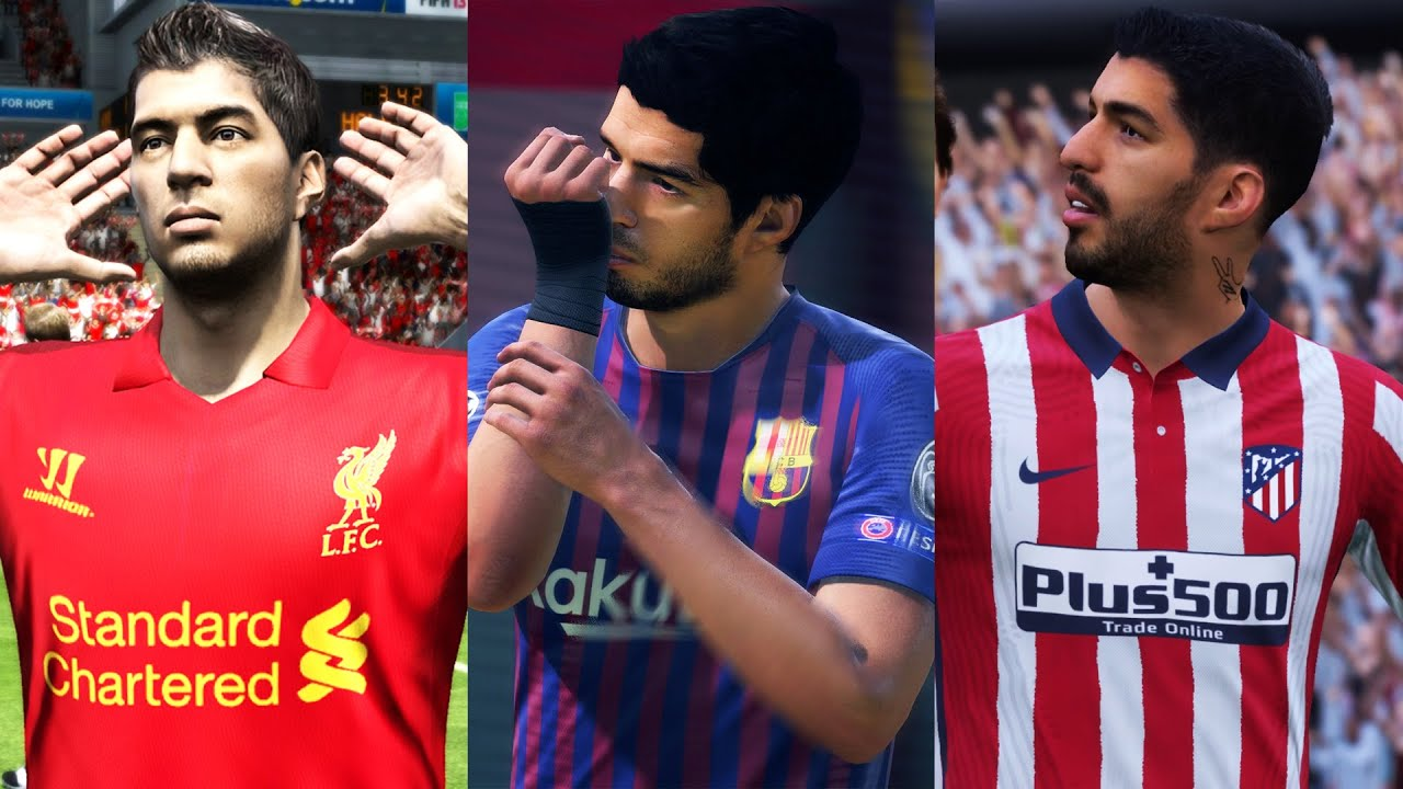 LUIS SUAREZ IN EVERY FIFA (07-21)