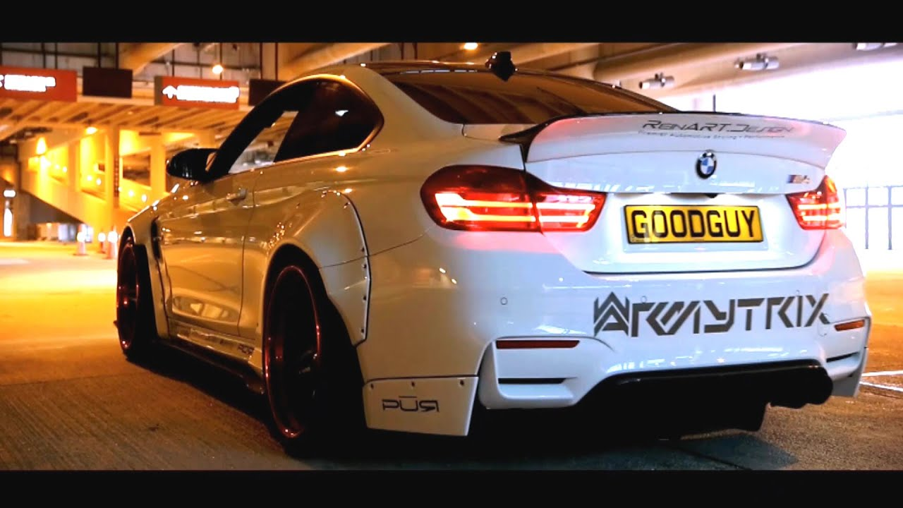 Nasty Liberty Walk BMW M4 w/ Armytrix OBD2 Valved Exhaust ...