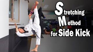 Stretching Method for side kick / 태권도 옆차기 스트레칭 방법
