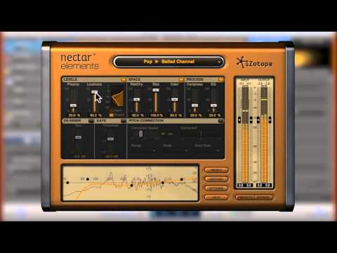 Mixing Sung Vocals | iZotope Nectar Elements - YouTube