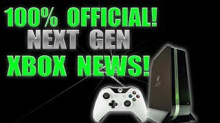 100% OFFICIAL! Microsoft Confirms First Incredible Details About The Next Xbox, It's Happening!