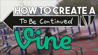 how To: Create