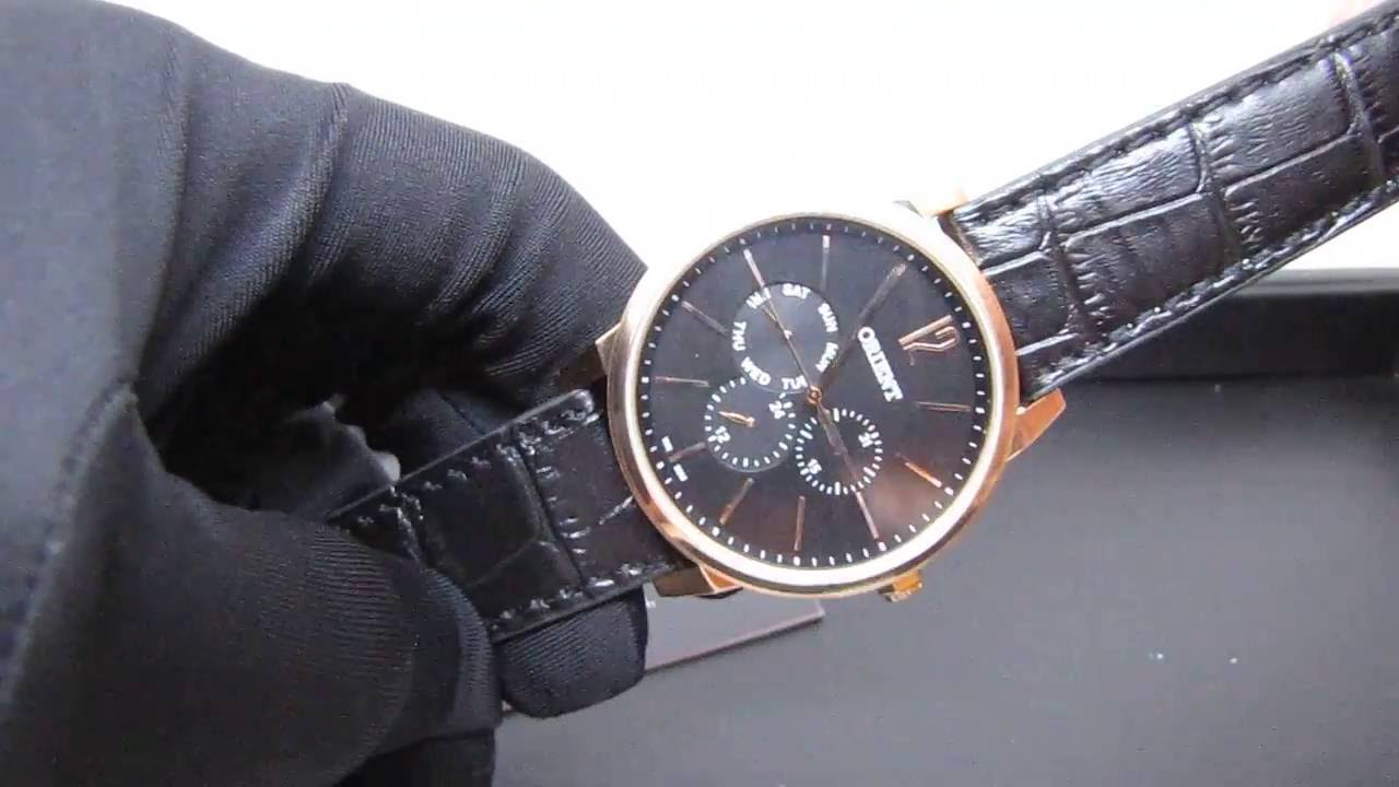 02fba1e8435 REVIEW   Relógio Masculino Orient MRSCM001 Ouro Rosê Social Pulseira ...