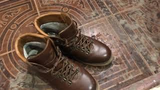 Обзор Ralf Ringer мужские зимние ботинки. Как ухаживать за обувью?