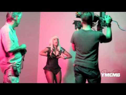 Trey Songz n Nicki Minaj Behind The Scenes Bottoms Up