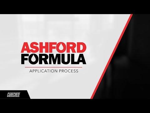Ashford Formula Application Process