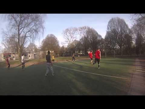 4v4 Street Football on 8 March 2015 part 4