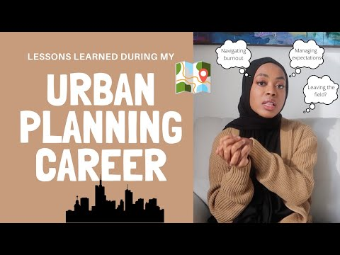 Working in Urban Planning: Challenges, Lessons Learned, and Book Recs!