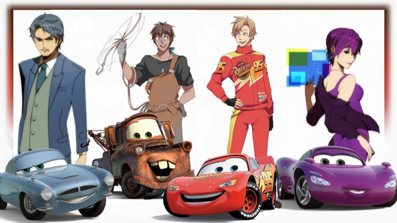 Cars Human Version Youtube