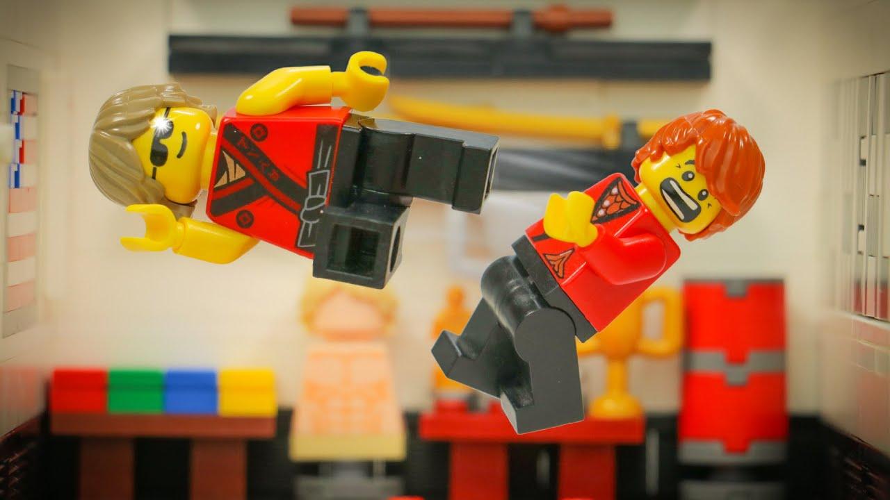 LEGO Kung Fu DOJO!!