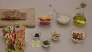 Wai Wai Chicken Tostadas Recipe - Haryanvi Style!