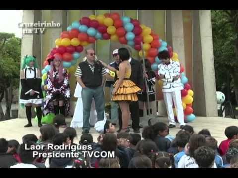 LAOR RODRIGUES (TVCOM) E LAELSO RODRIGUES (FUA) NA FESTA DE 01 ANO DO CRUZEIRINHO NA TV