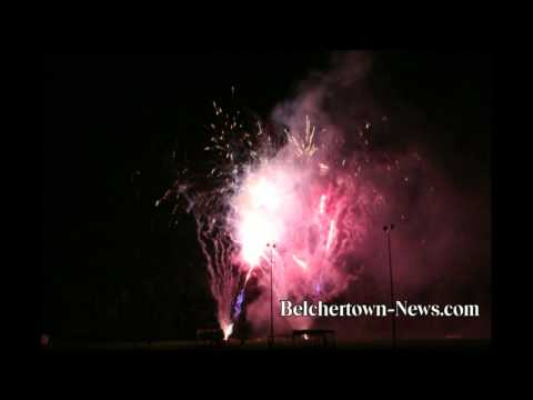 Belchertown Kicks Off Annual Fair With Fireworks Display at Chestnut Hill Community School