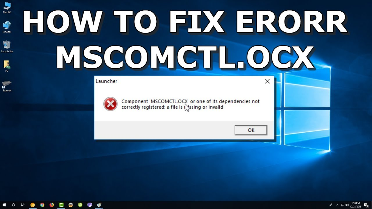mscomctl.ocx download windows 7 32 bit