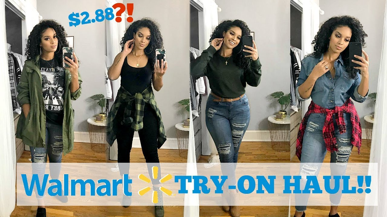 HUGE WALMART CLOTHING HAUL + TRY ON! 10+ OUTFITS!! | FALL 2018 9