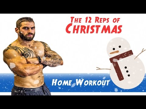 12 Reps Of Christmas Home Fat Burning Workout - Ho Ho Ho