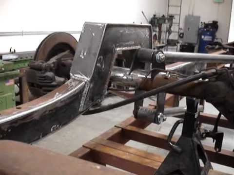 Bagged 1953 Chevy Build Part 1 By Meyerchassis Youtube