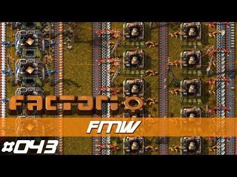 """Let's Play Factorio S01 E043 – Die """"Factorio Motoren Werke""""  – mit Mods - deutsch"""