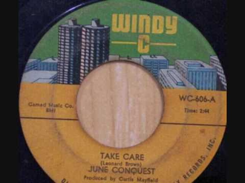 Take Care-June Conquest {Windy-C/Cameo-Parkway 1967}