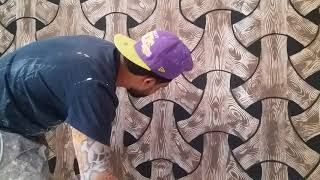 décoration peinture 3D