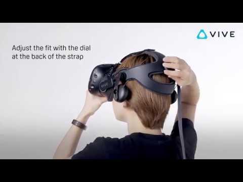 HTC Vive Deluxe Audio Strap - Video