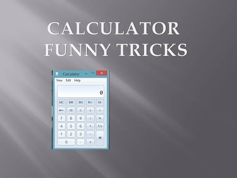 calculator funny | calculator tricks | how to type hello in calculator