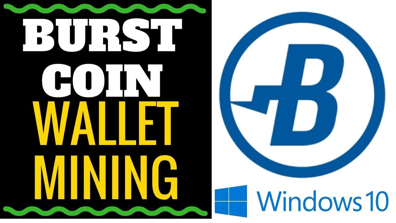 burst cryptocurrency wallet