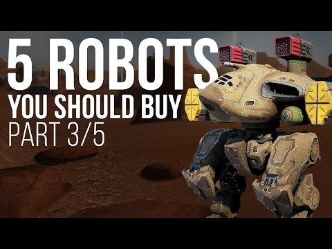 5 Robots You Should Buy (Griffin) - War Robots - Tutorial - Part 3/5