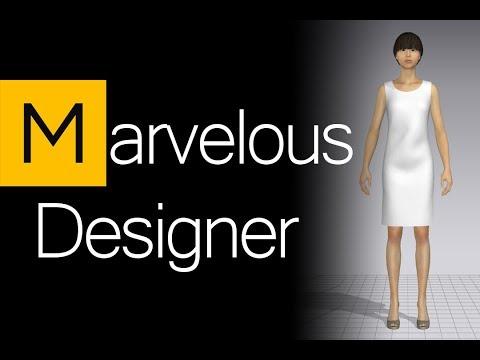 Marvelous designer: 3D моделирование одежды
