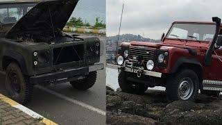 Baştan Sona *Land Rover Defender 110* Modifiye