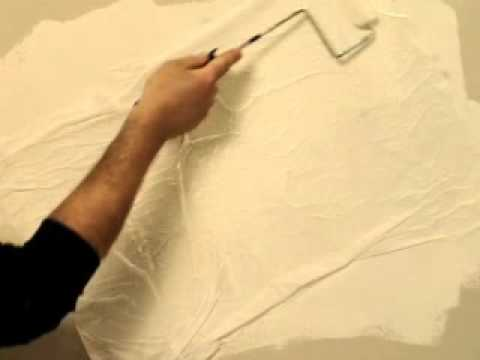 wall paint technique Tissue Paper- Τεχνοτροπία Tissue Paper - YouTube