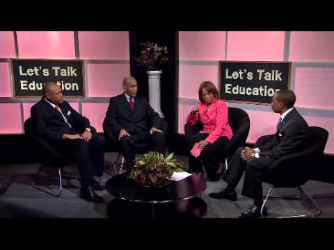 Let's Talk Education - Educating Our Young African-American Men