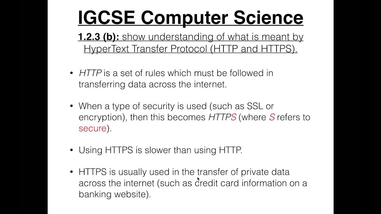Igcse computer science tutorial 123 b hypertext transfer igcse computer science tutorial 123 b hypertext transfer protocol baditri Gallery
