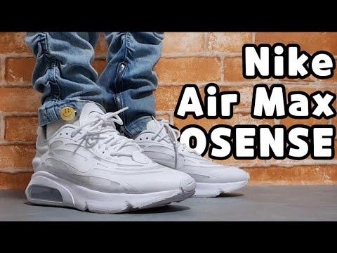 (4K) NIKE AIR MAX EXOSENSE unboxing/NIKE AIR MAX EXOSENSE on feet review