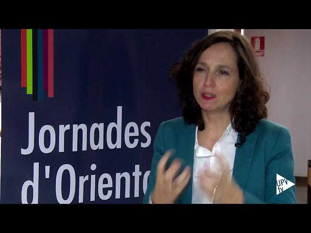 Arancha Ruiz: claves para orientar al alumnado - Noticia @UPVTV, 05-12-2017