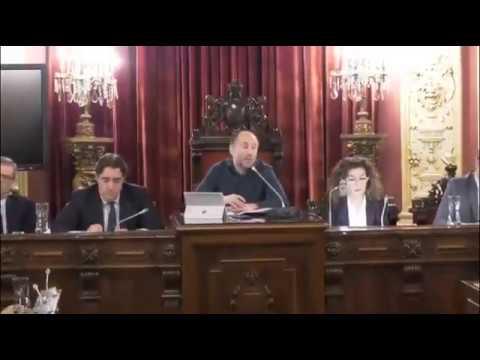 Un pleno de Ourense se vuelve viral por el delirante comportamiento de Jácome