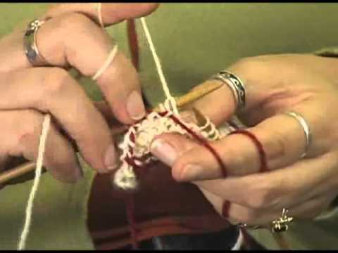 Knitting Instructional Video: How to Catch Your Floats in Fair ...