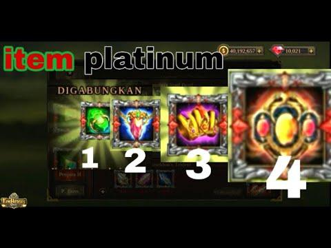 Gabungkan Item Platinum Level 1-2-3- Sampai Level 4,Gumiho's Soul Pearl [Epic Heroes War]
